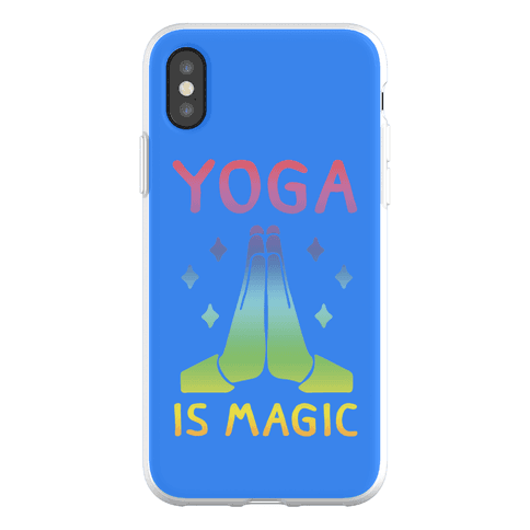 Yoga Is Magic Phone Flexi-Case