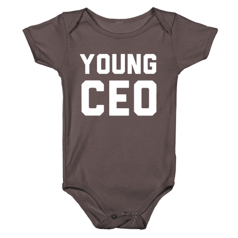 Young CEO Baby One-Piece