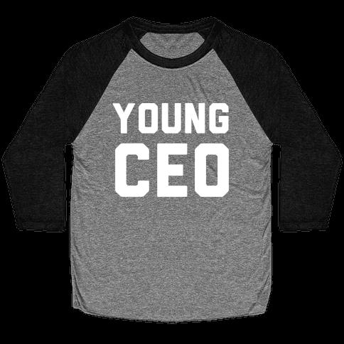 Young CEO Baseball Tee