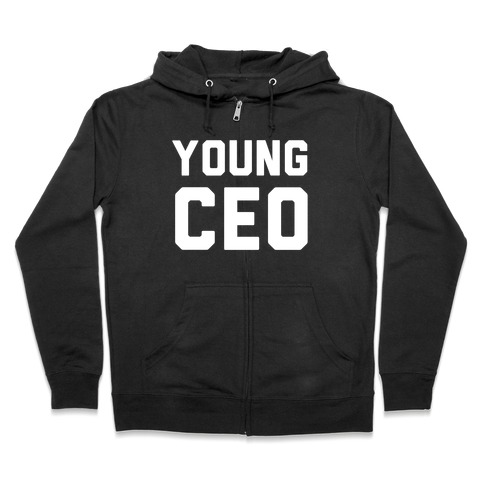 Young CEO Zip Hoodie