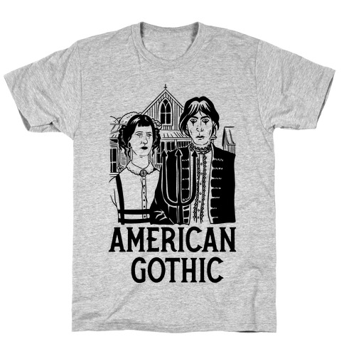 American Gothic Mall Goths T-Shirt