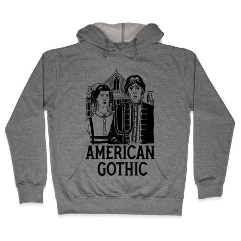 American Gothic Mall Goths Hooded Sweatshirt