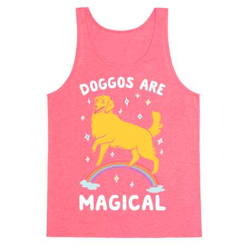 Doggos Are Magical Tank Top