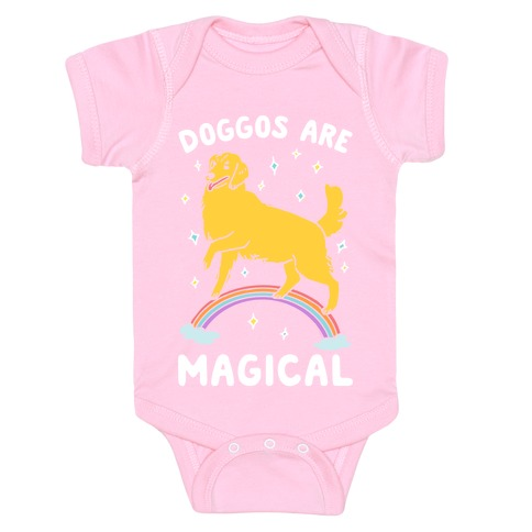 Doggos Are Magical Baby Onesy