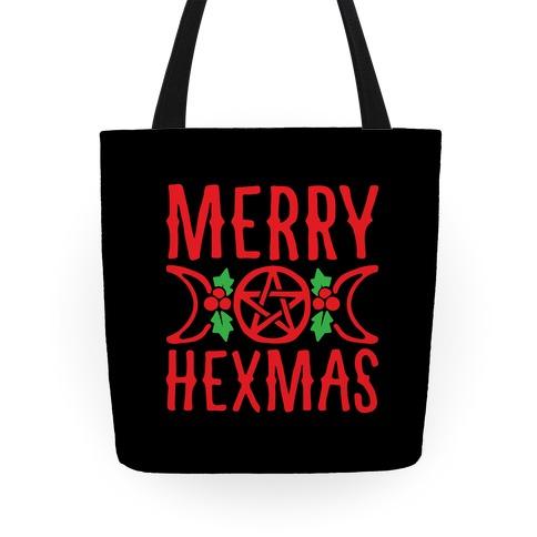 Merry Hexmas Parody Tote