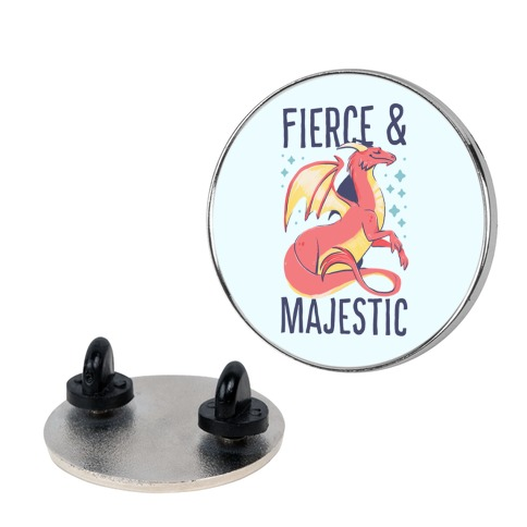 Fierce and Majestic - Dragon Pin