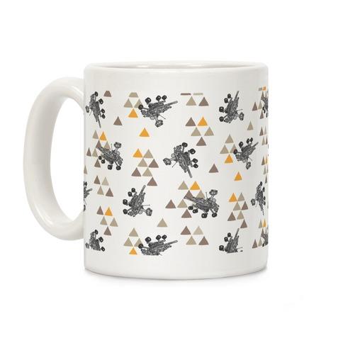 Wandering Mars Rover Coffee Mug