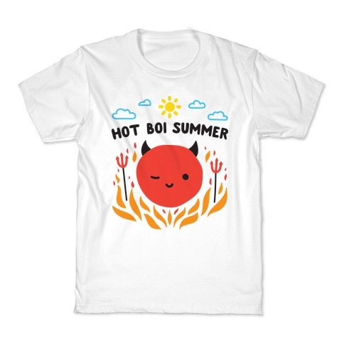 Hot Boi Summer Kids T-Shirt
