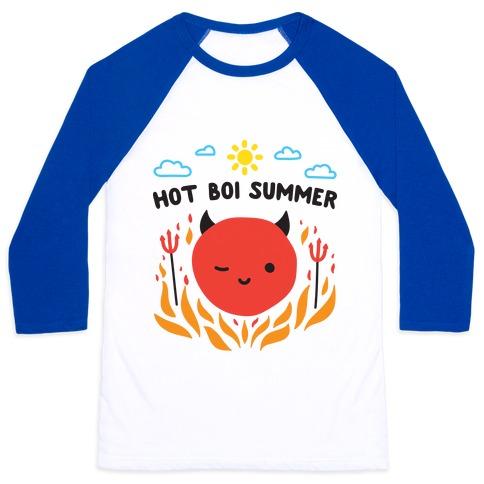 Hot Boi Summer Baseball Tee