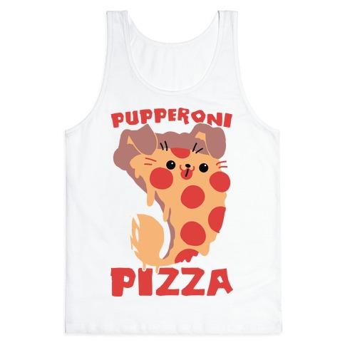 PUPPERoni Pizza Tank Top
