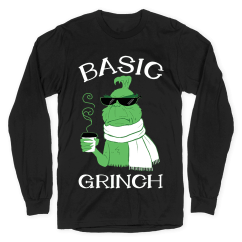 Basic Grinch Long Sleeve T-Shirt