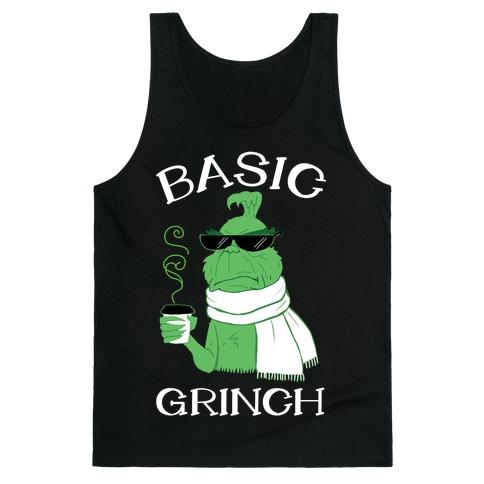 Basic Grinch Tank Top