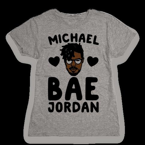 Michael Bae Jordan Parody Womens T-Shirt