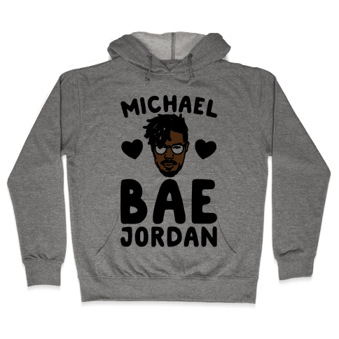 Michael Bae Jordan Parody Hooded Sweatshirt