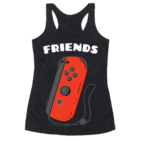 Best Friends Joycon Red Racerback Tank Top