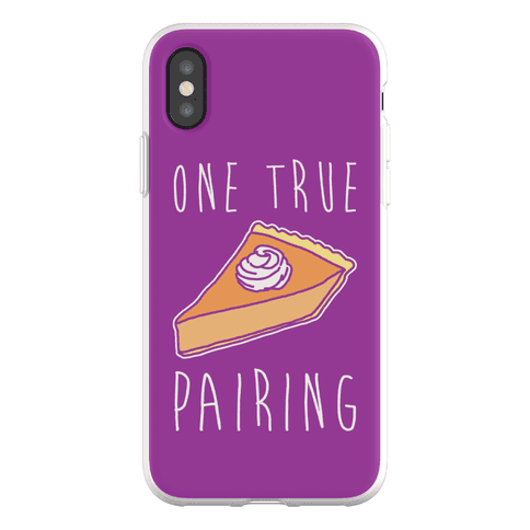 One True Pairing Parody Phone Flexi-Case