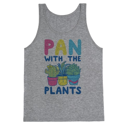 Pan with the Plants Tank Top