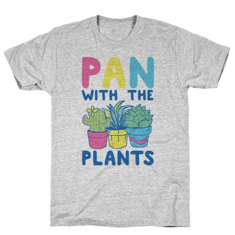 Pan with the Plants T-Shirt