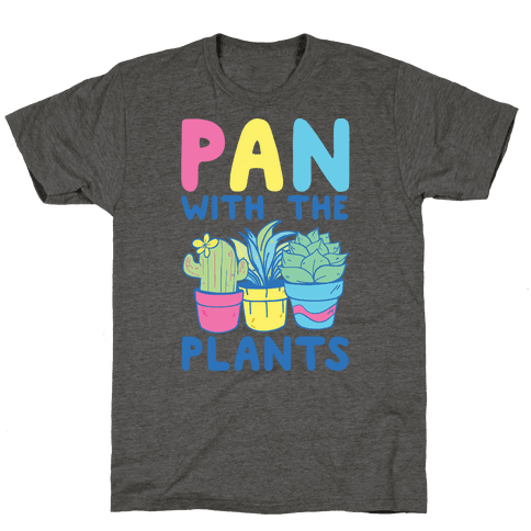 Pan with the Plants Mens T-Shirt