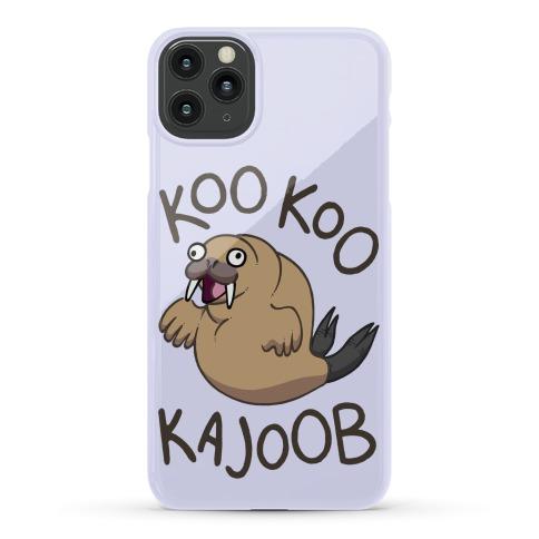 Koo Koo Kajoob Derpy Walrus Phone Case