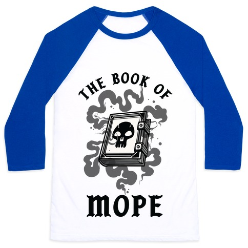 The Book Of Nope Black Magic Baseball Tee