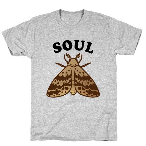 Moth & Lamp Soul Mates (1 of 2) T-Shirt