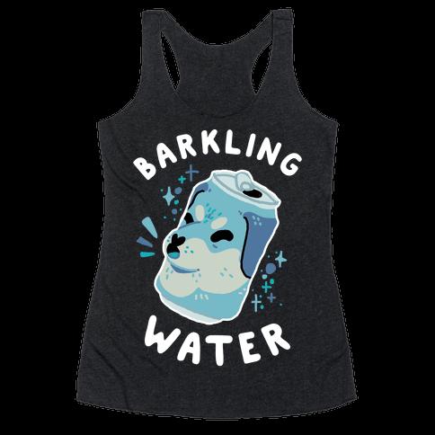 Barkling Water Racerback Tank Top