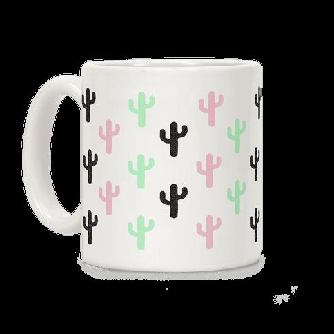 Pastel Cactus Coffee Mug