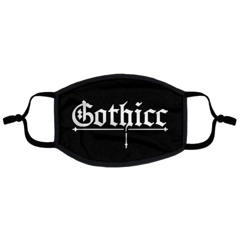 Gothicc Flat Face Mask