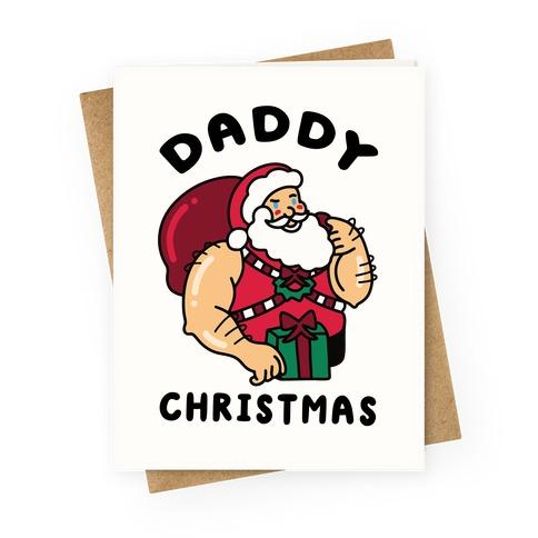 Daddy Christmas Greeting Card