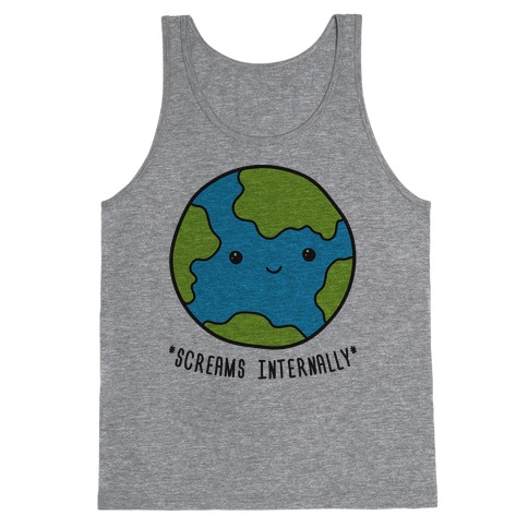 Earth Screams Internally Tank Top