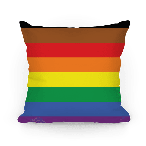 Gay Pride Flag Pillow