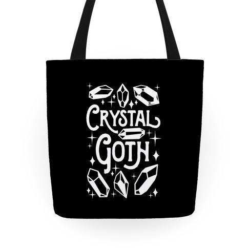 Crystal Goth Tote