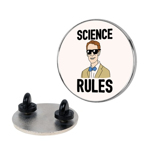 Science Rules  pin