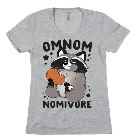 Omnomnomivore Womens T-Shirt