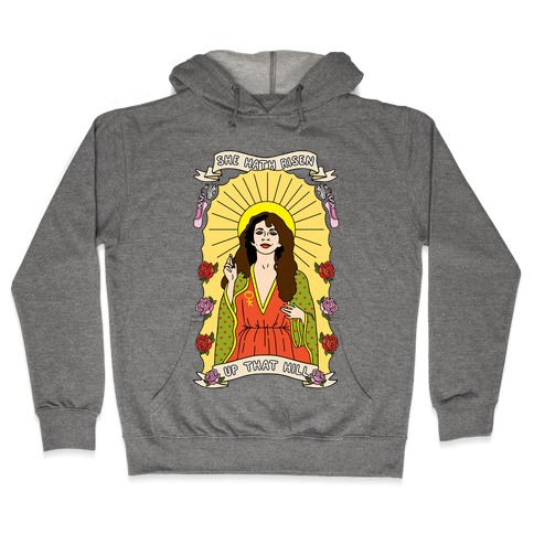 Saint Bush Parody Hooded Sweatshirt