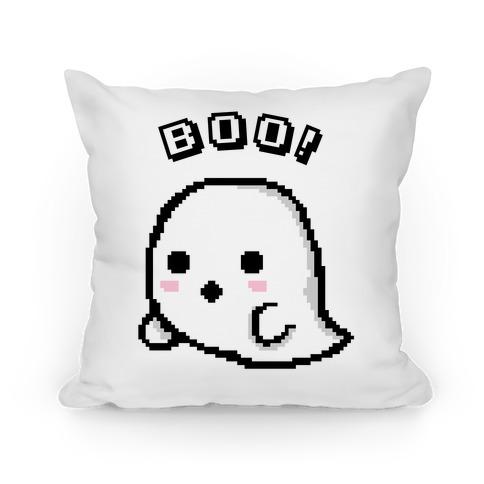 Pixel Ghost Pillow