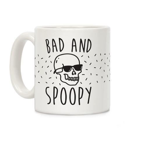 Bad And Spoopy Coffee Mug