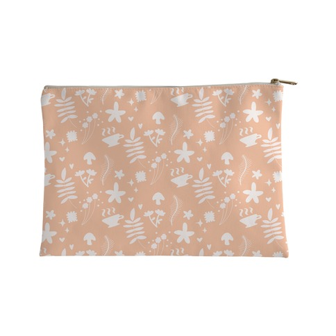 Dainty Cottage Pattern Accessory Bag