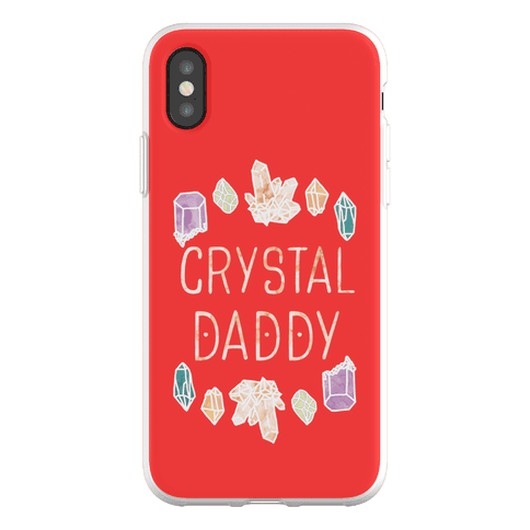 Crystal Daddy Phone Flexi-Case