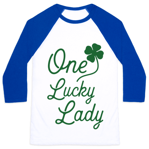 One Lucky Lady Baseball Tee