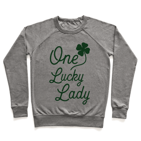 One Lucky Lady Pullover