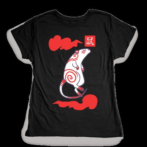 Rat - Chinese Zodiac Womens T-Shirt