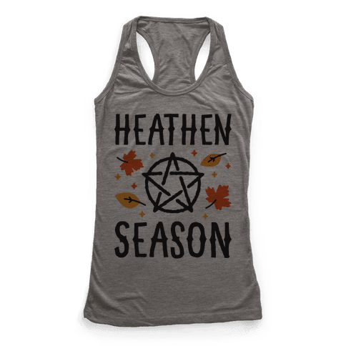 Heathen Season Racerback Tank Top
