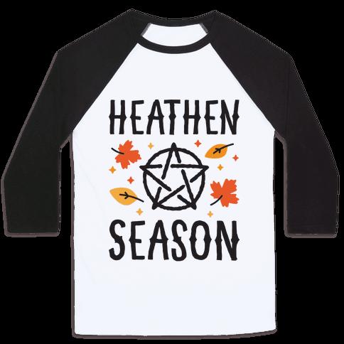 Heathen Season Baseball Tee