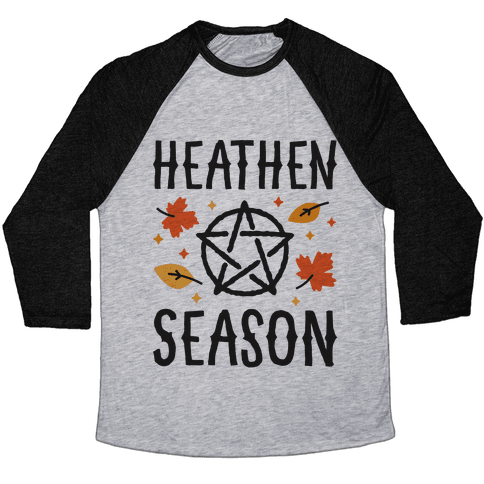 Heathen Season Baseball Tee