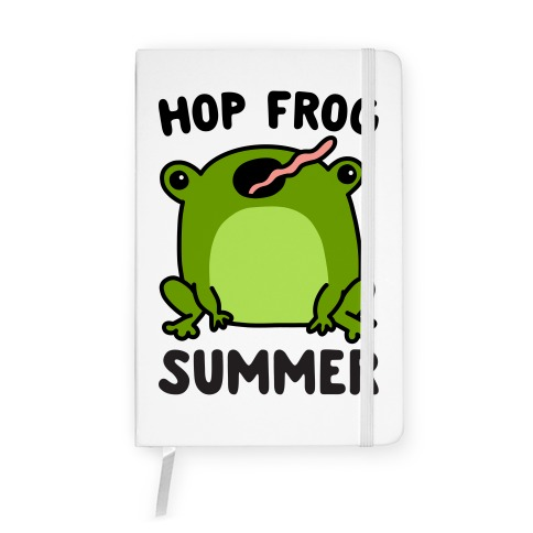 Hop Frog Summer Notebook