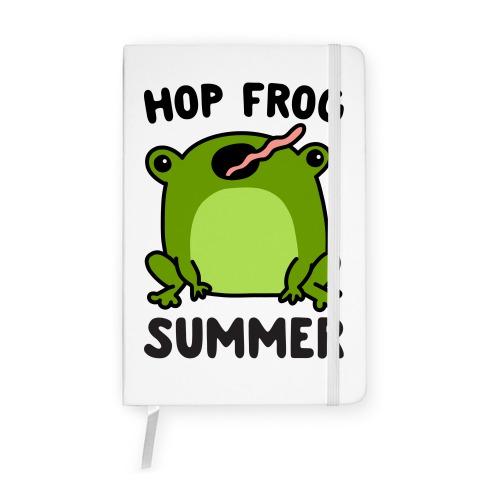Hop Frog Summer Notebook