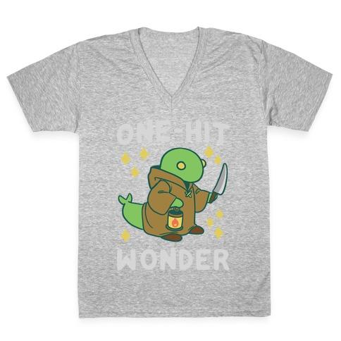 One Hit Wonder - Tonberry V-Neck Tee Shirt