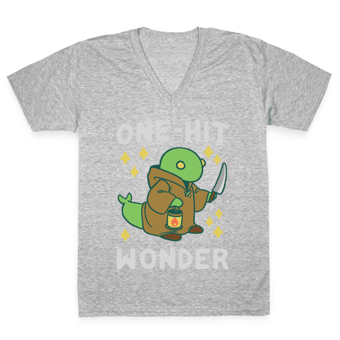 One Hit Wonder - Tonberry V-Neck Tee Shirt